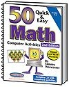 50 Quick & Easy Math Computer Activities 2nd Edition | Tammy Worcester