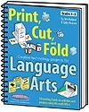 Print, Cut, and Fold Creative Technology Projects for Language Arts | Jim Holland