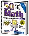 50 Quick & Easy Math Computer Activities 2nd Edition