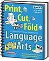 Print, Cut, and Fold Creative Technology Projects for Language Arts
