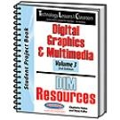 Technology Lessons for the Classroom: Digital Graphics & Multimedia - Volume 3 | Charlotte Haley