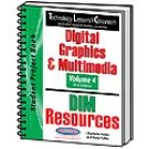 Technology Lessons for the Classroom: Digital Graphics & Multimedia - Volume 4 | Charlotte Haley
